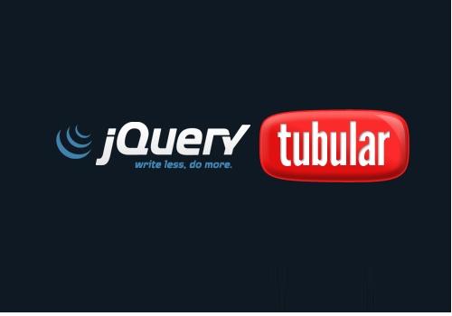 tubular-jquery