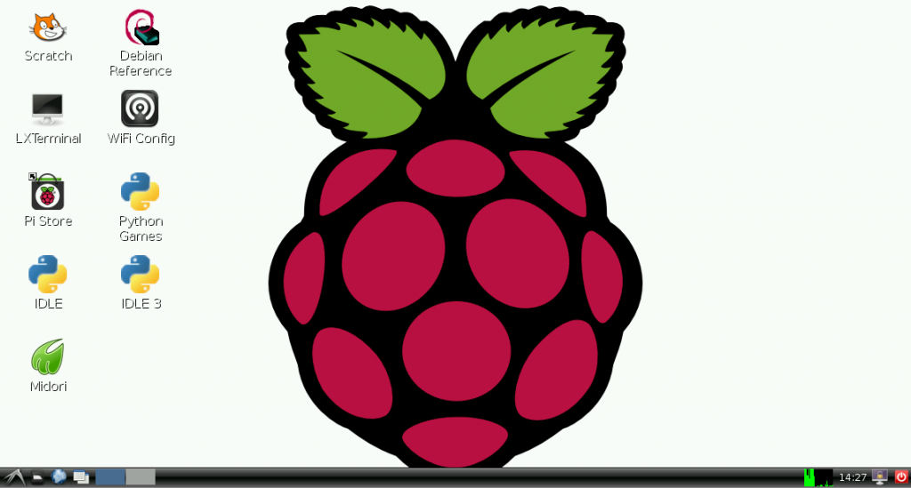 raspbian-screenshot