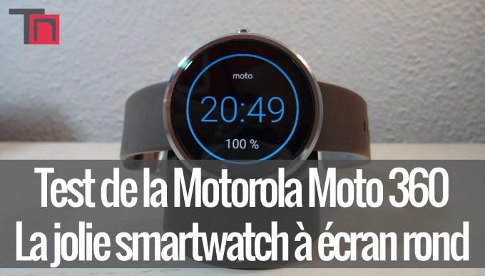 moto 360 jolie smartwatch ecran rond