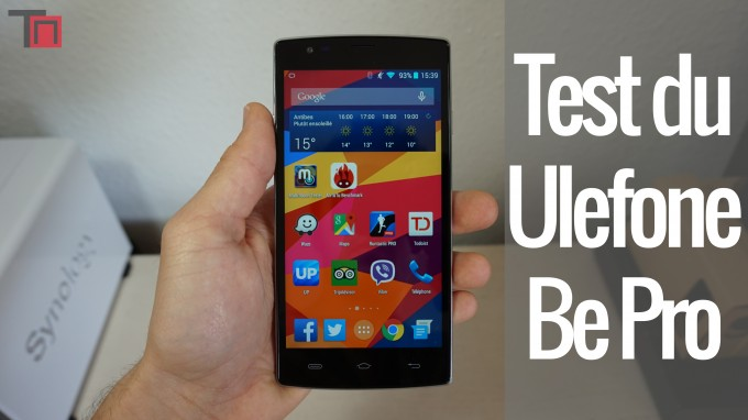 Test du ulefone be pro par technews