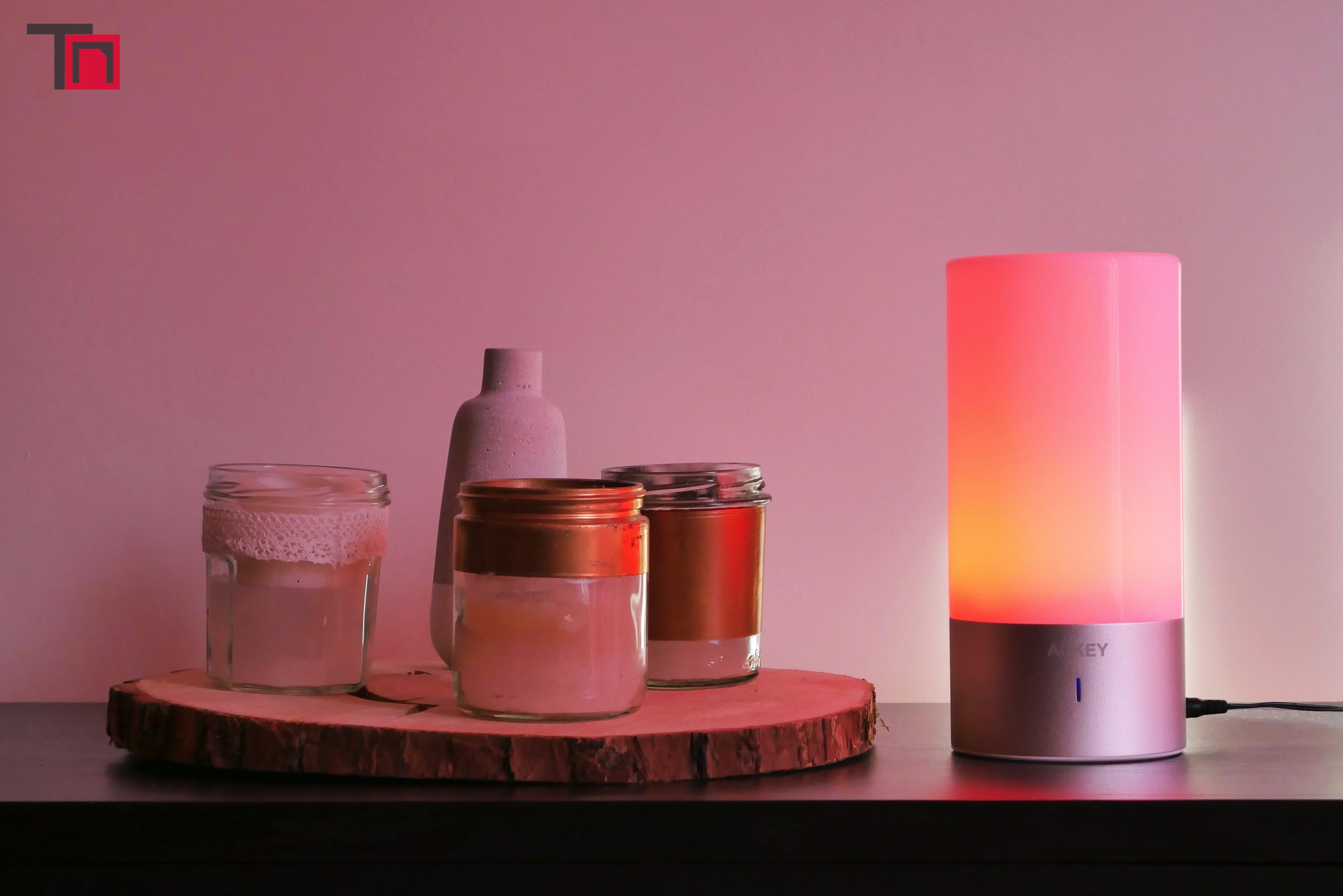 Lampe De Chevet Tactile Sensitive Aukey Un Bel Objet Tres